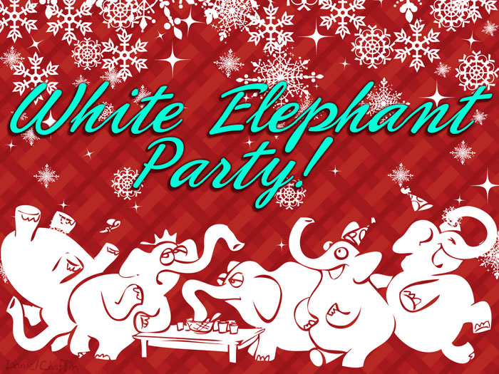 white elephant gift clipart free - photo #34